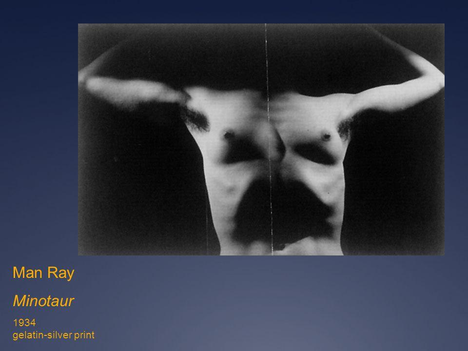 Man Ray Minotaur 1934 gelatin-silver print