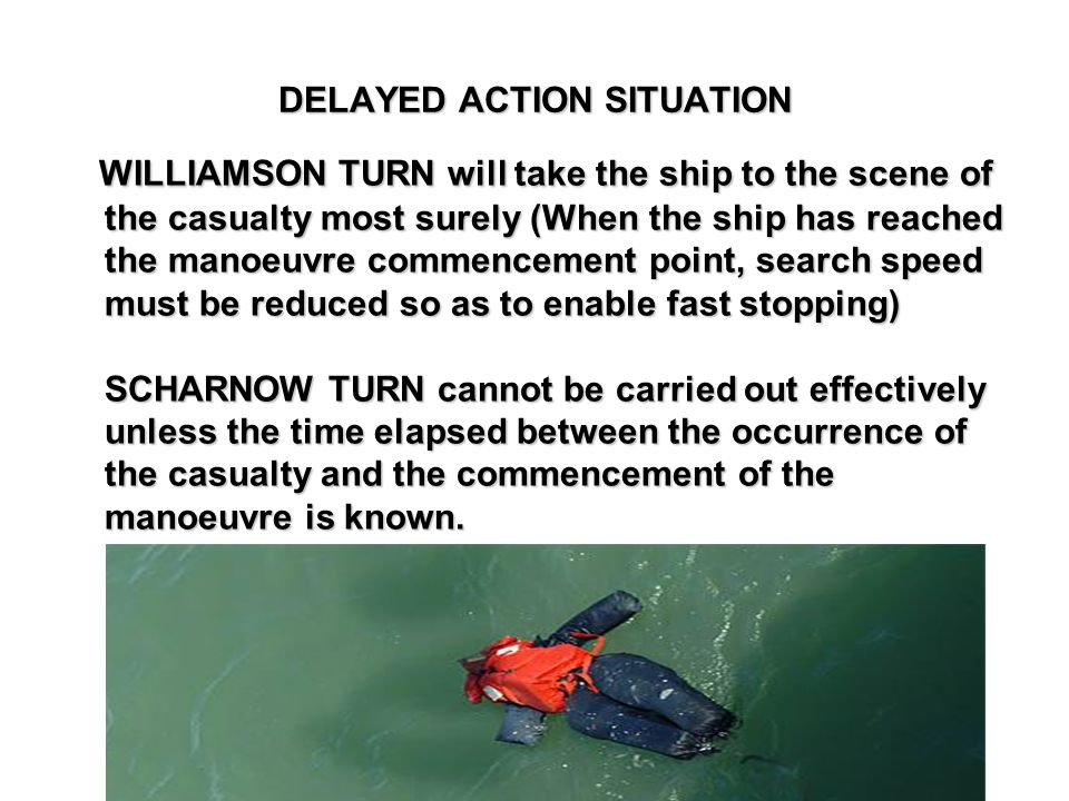 DELAYED ACTION SITUATION