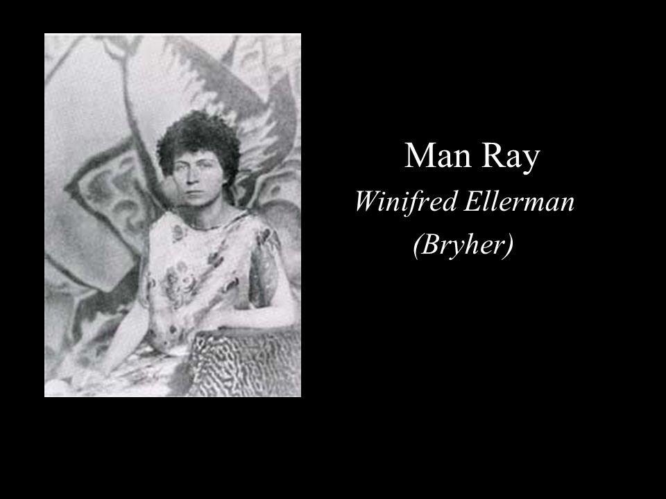 Man Ray Winifred Ellerman (Bryher)