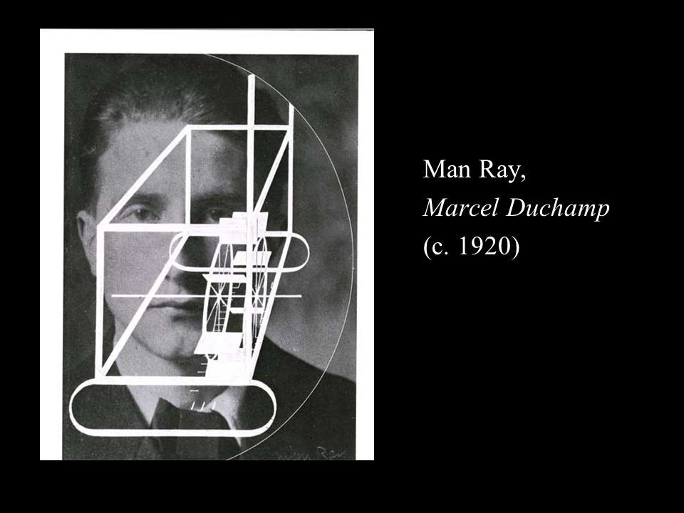 Man Ray, Marcel Duchamp (c. 1920)