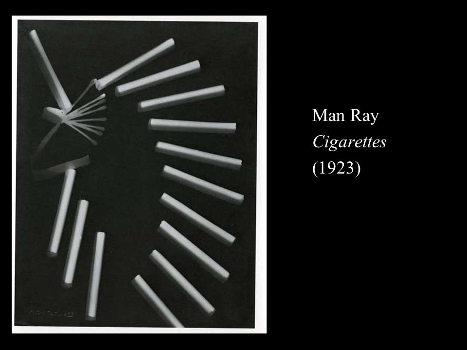 Man Ray Cigarettes (1923)