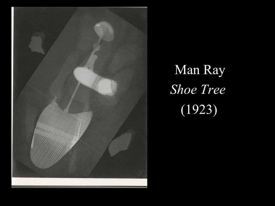 Man Ray Shoe Tree (1923)