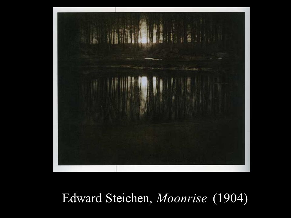 Edward Steichen, Moonrise (1904)