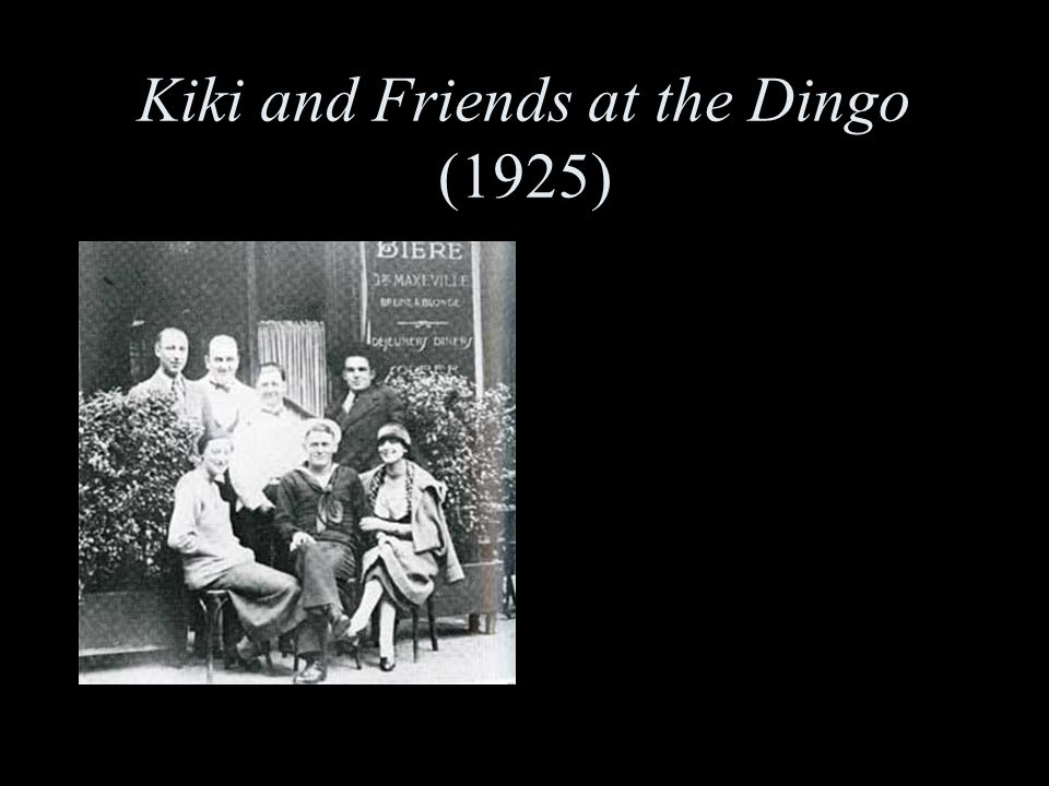 Kiki and Friends at the Dingo (1925)