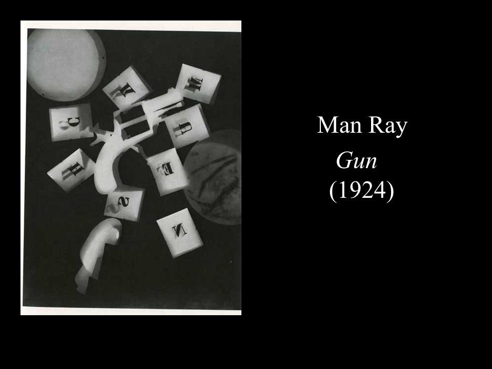 Man Ray Gun (1924)