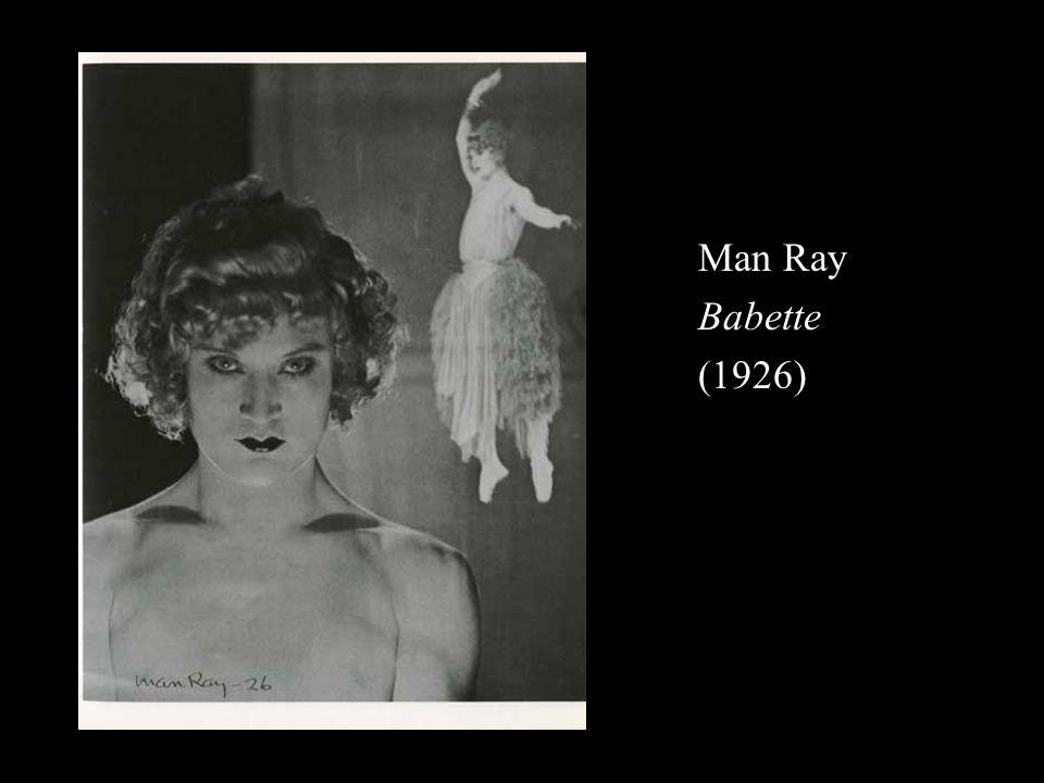 Man Ray Babette (1926)