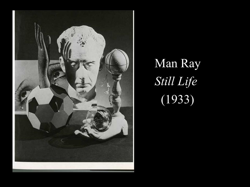 Man Ray Still Life (1933)