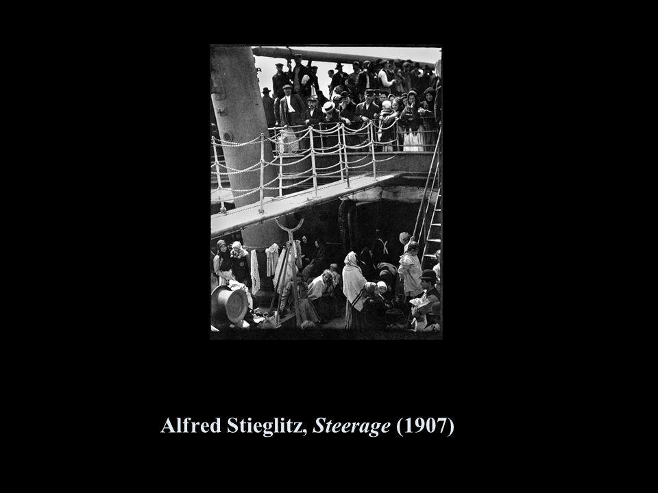 Alfred Stieglitz, Steerage (1907)