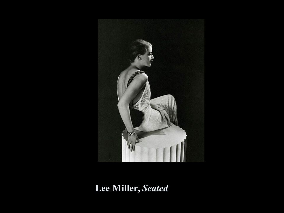 Lee Miller, Seated