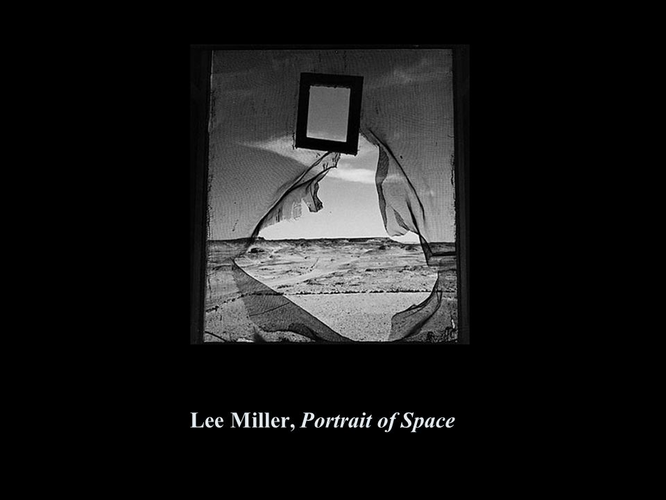 Lee Miller, Portrait of Space
