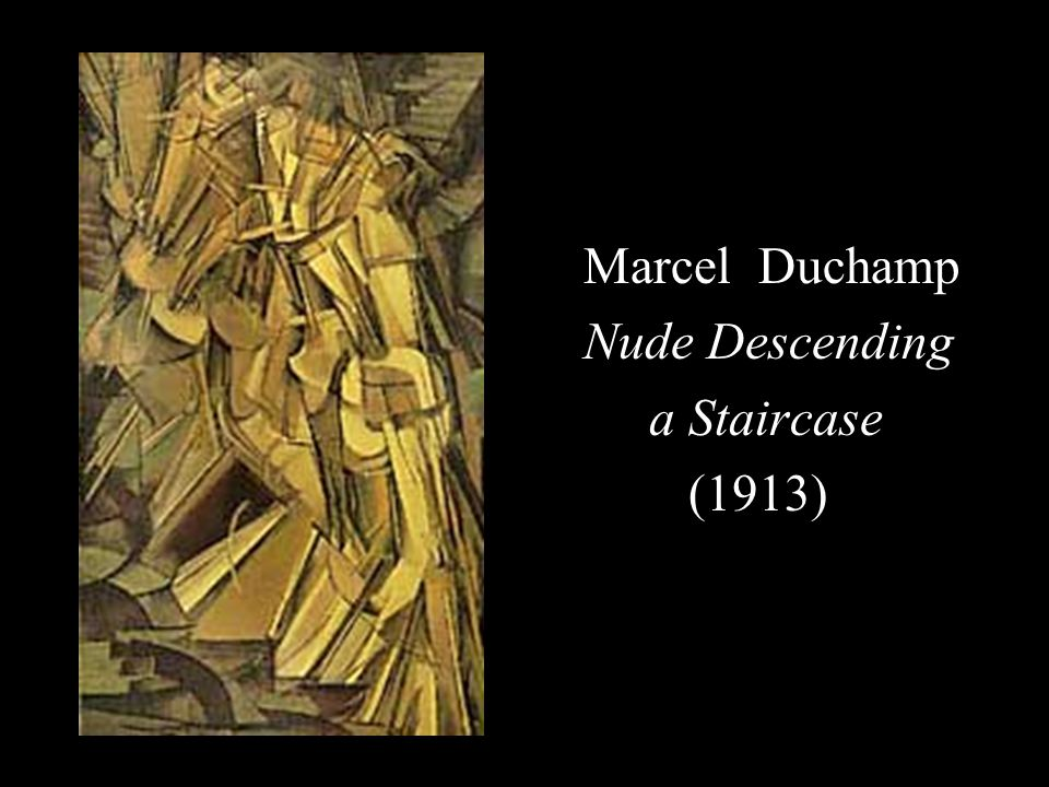 Marcel Duchamp Nude Descending a Staircase (1913)