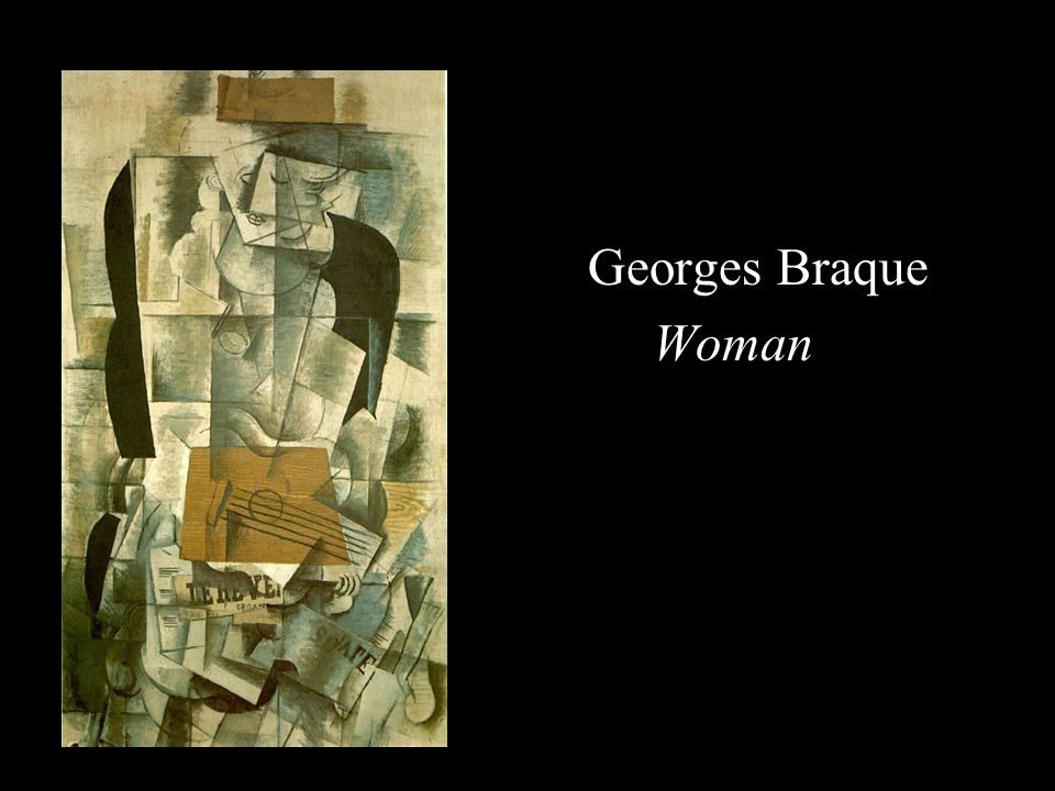 Georges Braque Woman