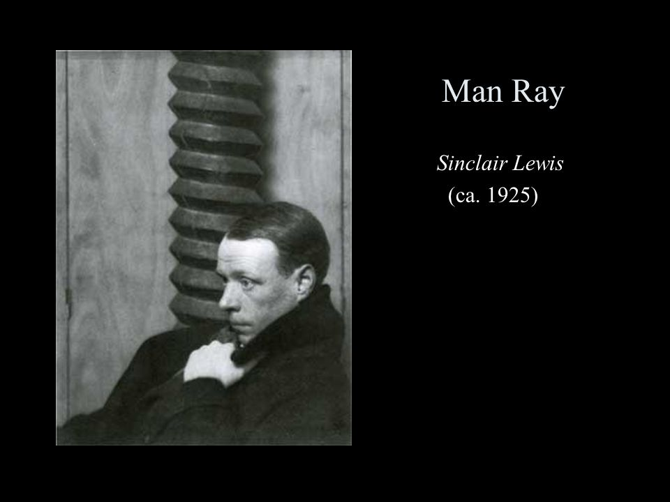 Man Ray Sinclair Lewis (ca. 1925)