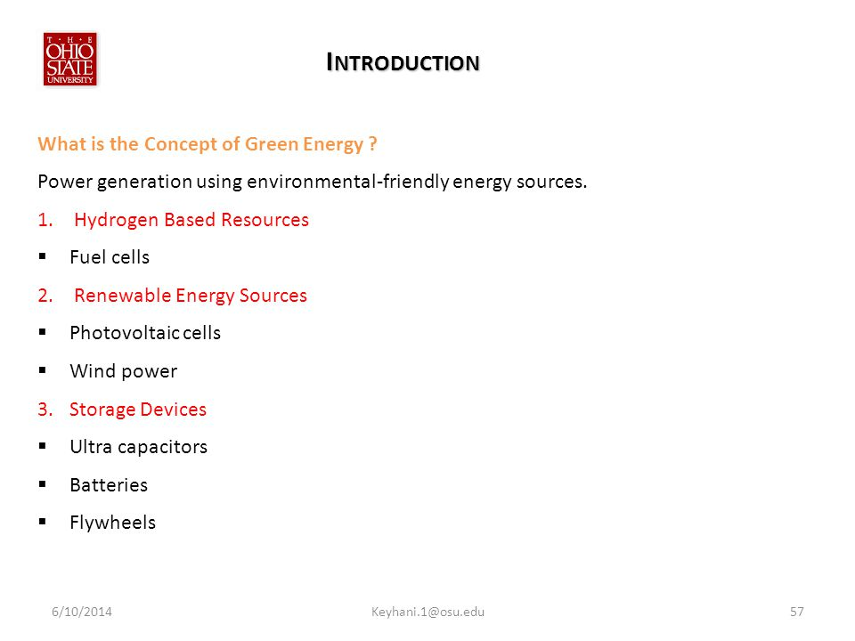 Introduction What is the Concept of Green Energy