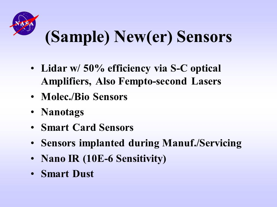 (Sample) New(er) Sensors