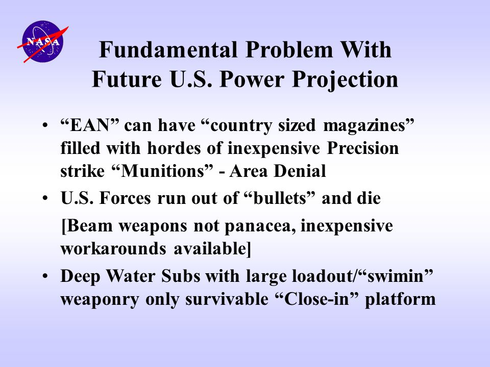 Fundamental Problem With Future U.S. Power Projection