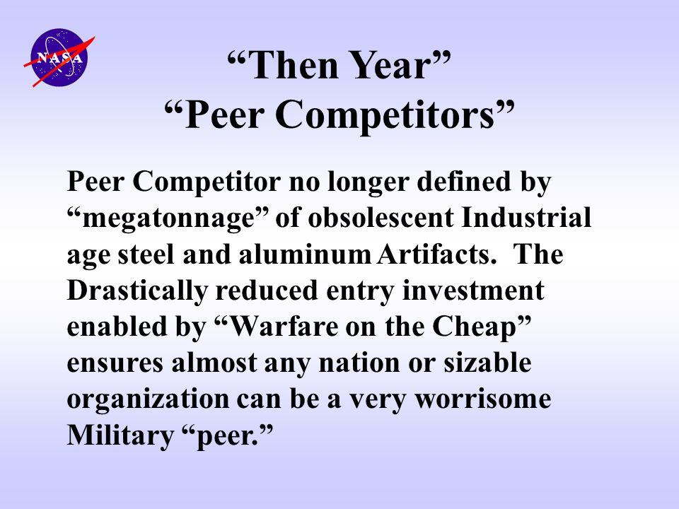 Then Year Peer Competitors