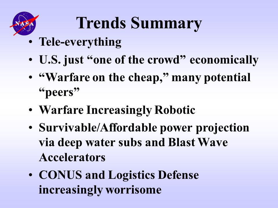 Trends Summary Tele-everything