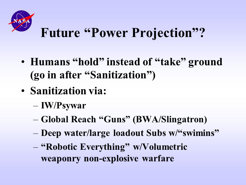 Future Power Projection