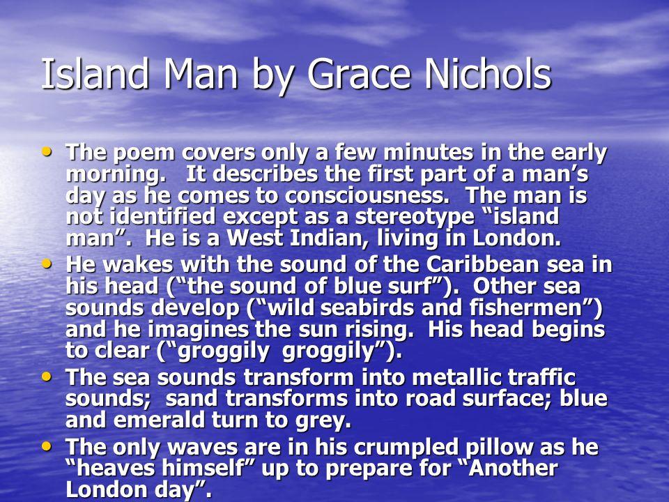 Island Man by Grace Nichols