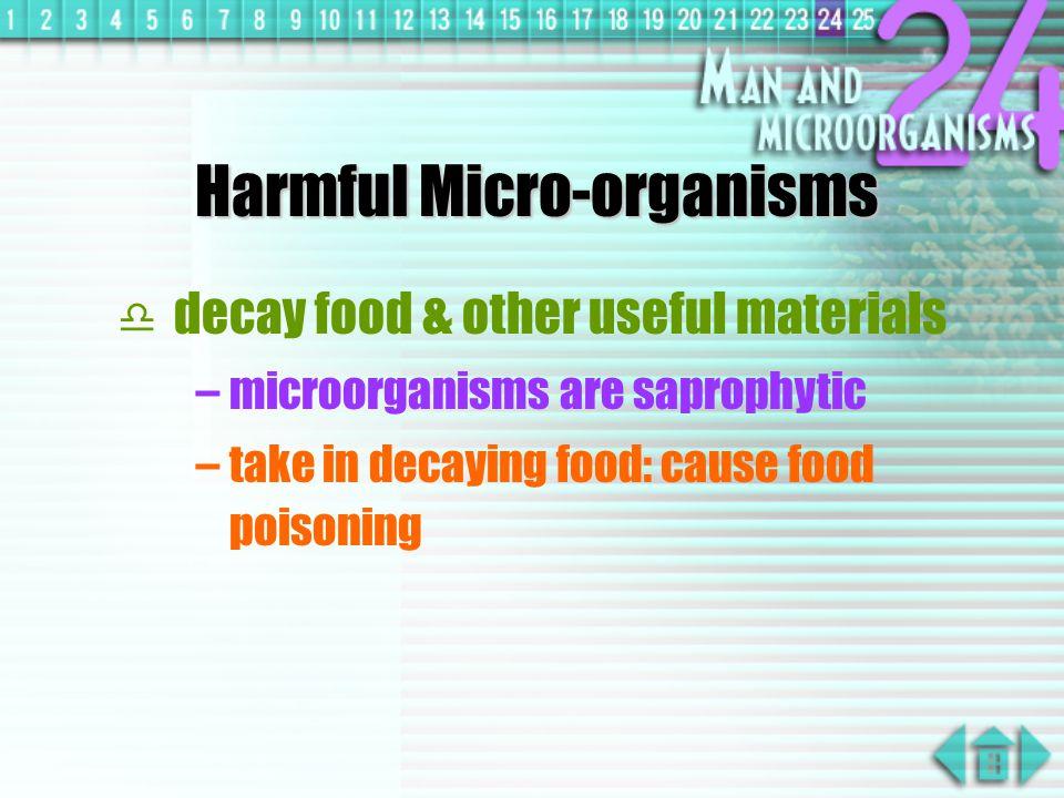 Harmful Micro-organisms