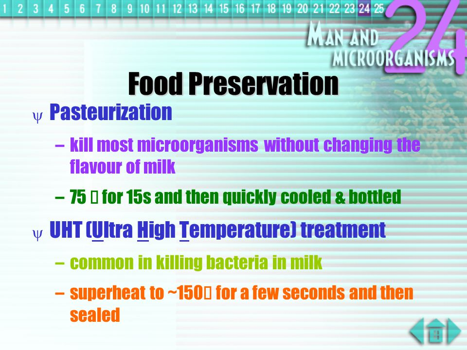 Food Preservation Pasteurization