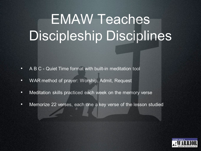 EMAW Teaches Discipleship Disciplines