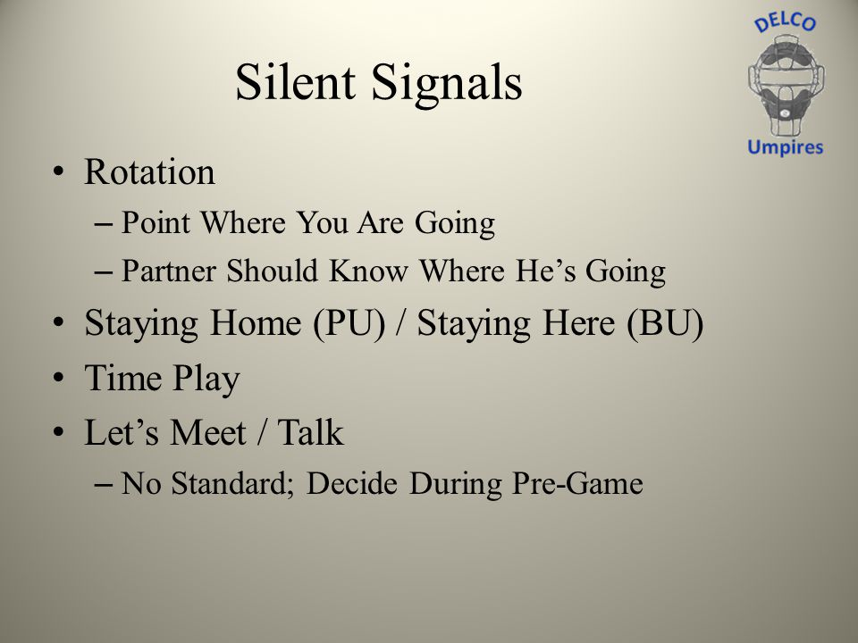 Silent Signals Rotation Staying Home (PU) / Staying Here (BU)