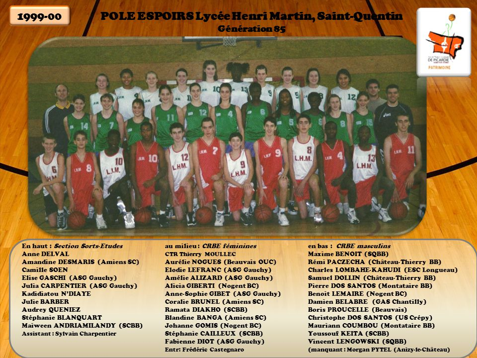 POLE ESPOIRS Lycée Henri Martin, Saint-Quentin