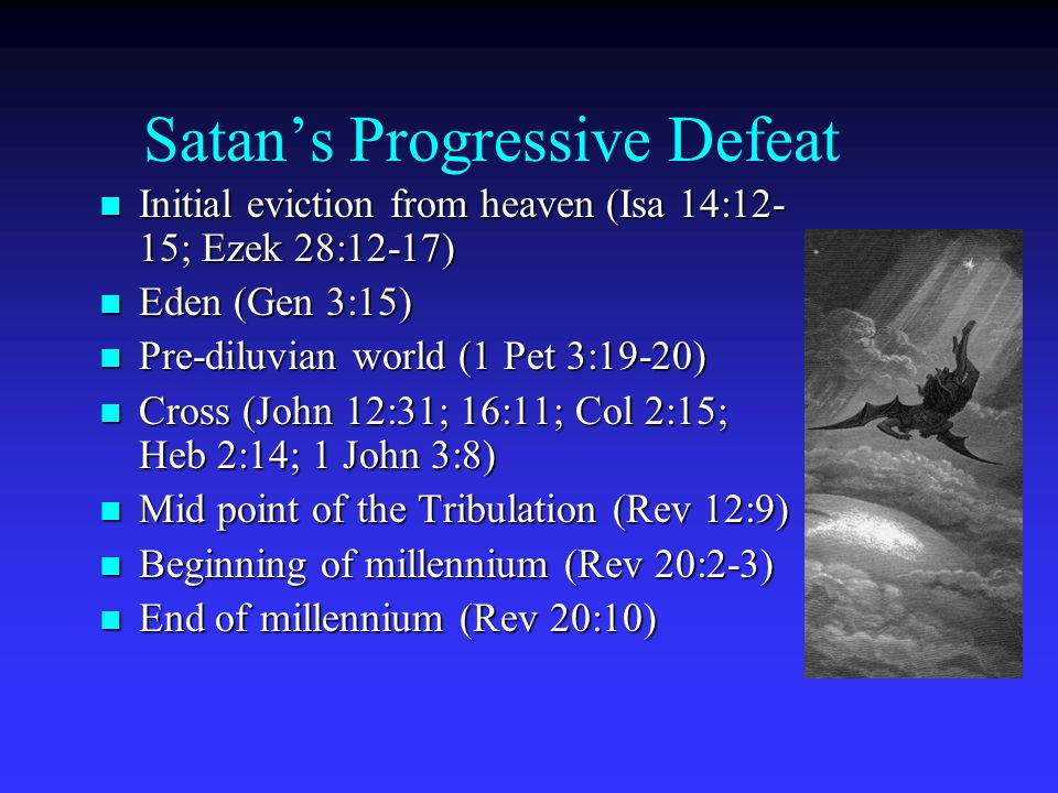 Satan's Progressive Defeat