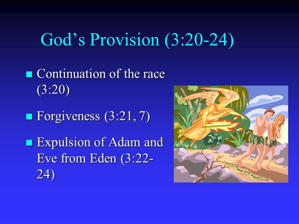 God's Provision (3:20-24) Continuation of the race (3:20)
