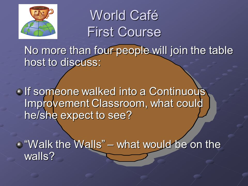 World Café First Course