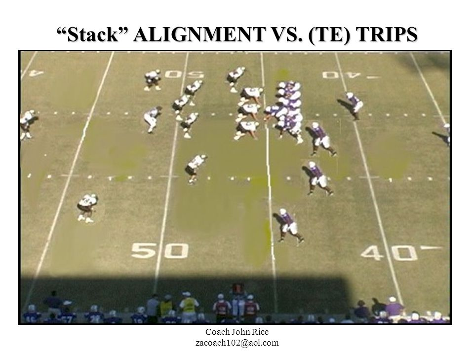 Stack ALIGNMENT VS. (TE) TRIPS