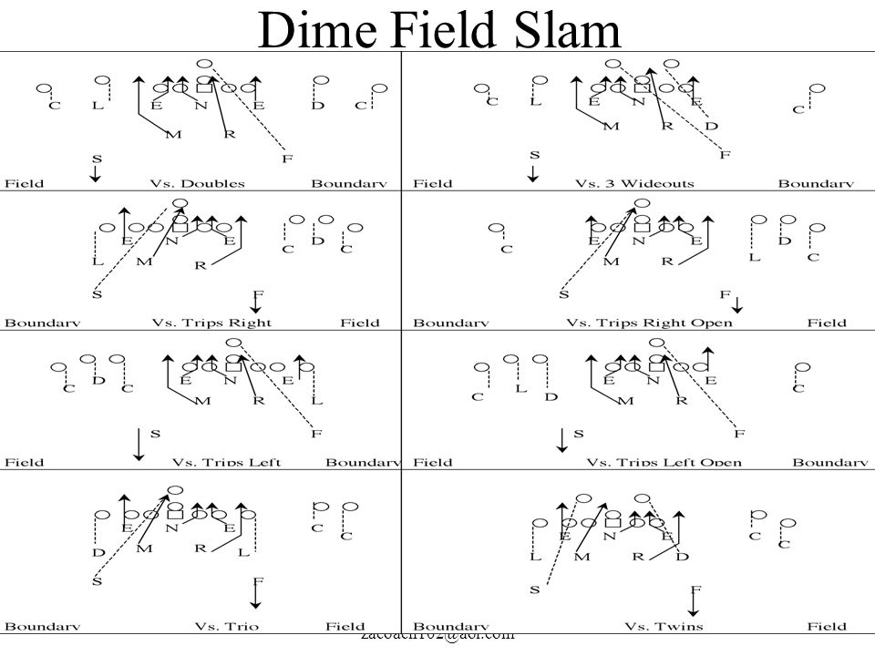 Dime Field Slam Coach John Rice zacoach102@aol.com