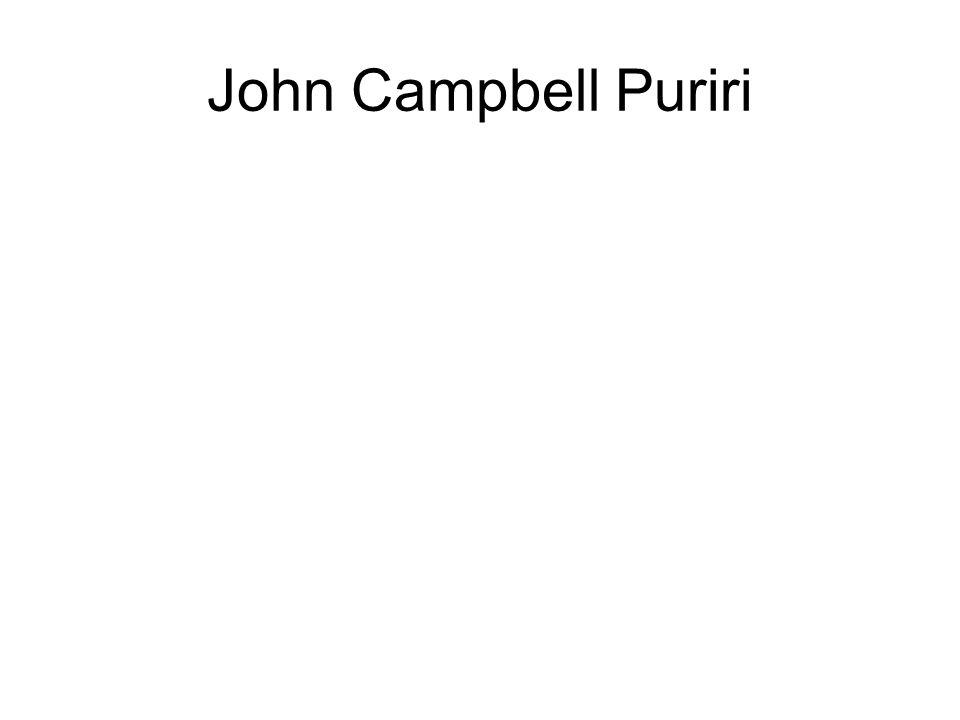 John Campbell Puriri