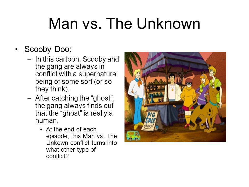 Man vs. The Unknown Scooby Doo: