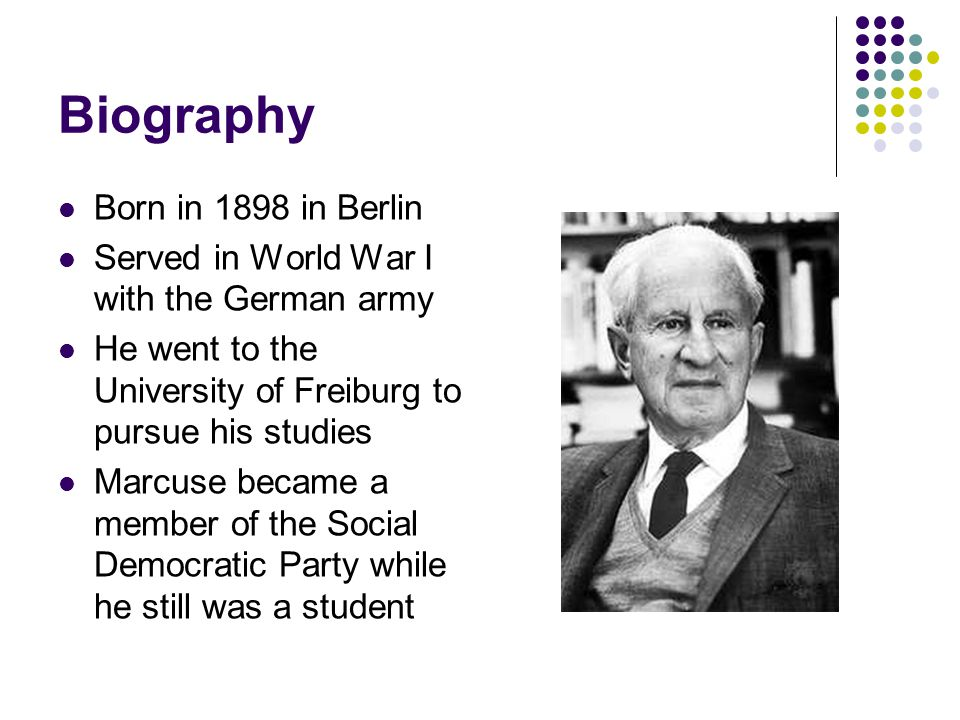 Biography Born in 1898 in Berlin