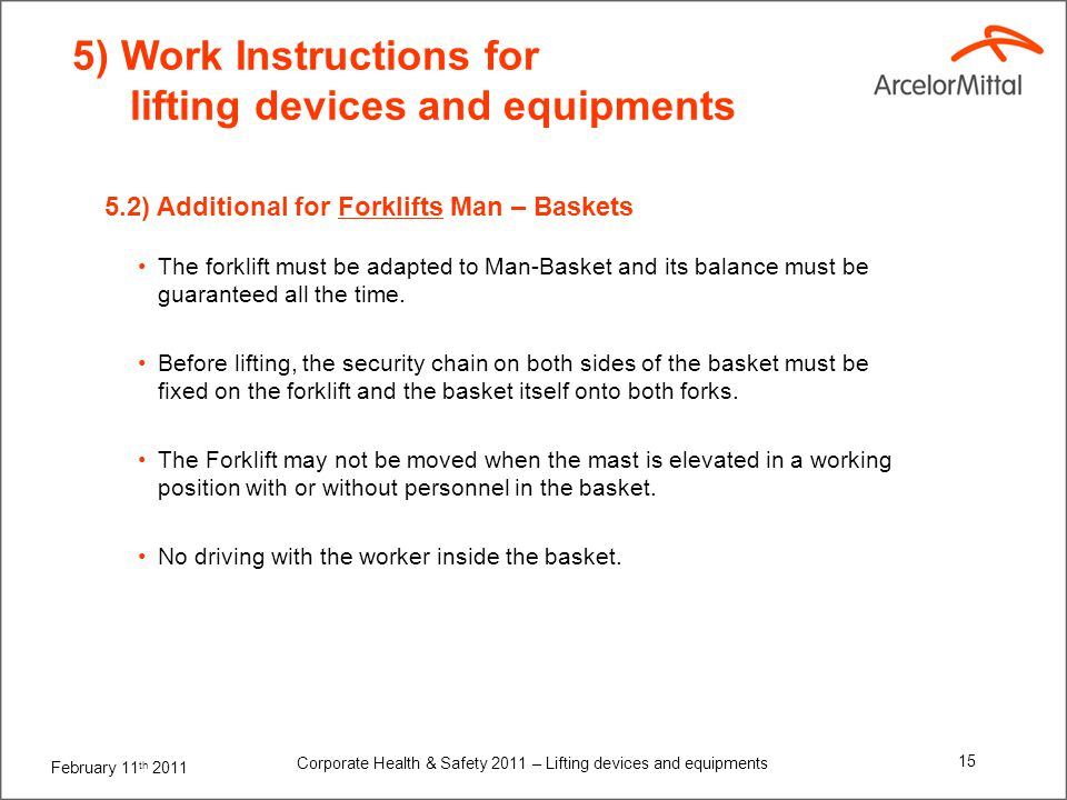 6) Proper And Safe Use Of Scissor and Boom Lifts