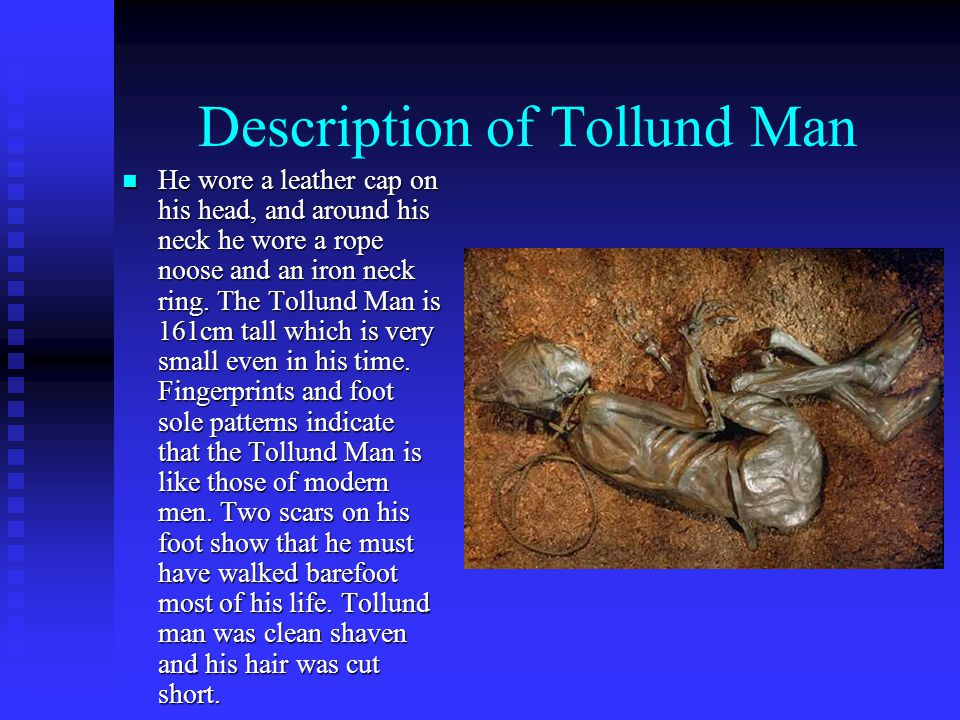 Description of Tollund Man