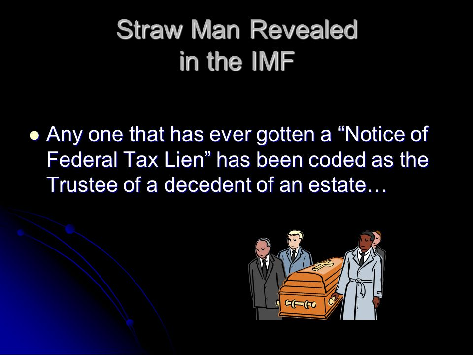 Straw Man Revealed in the IMF