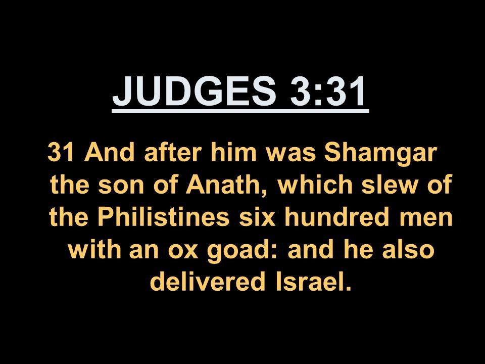 JUDGES 3:31