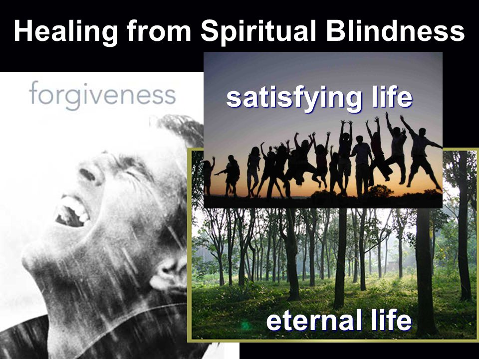 Healing from Spiritual Blindness