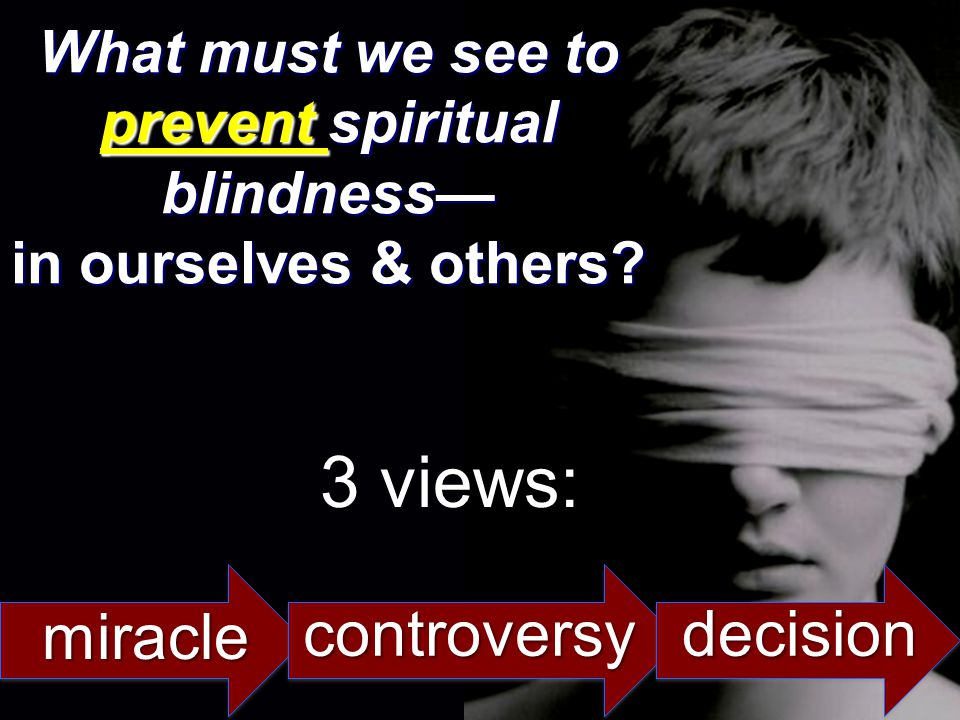 3 views: miracle controversy decision