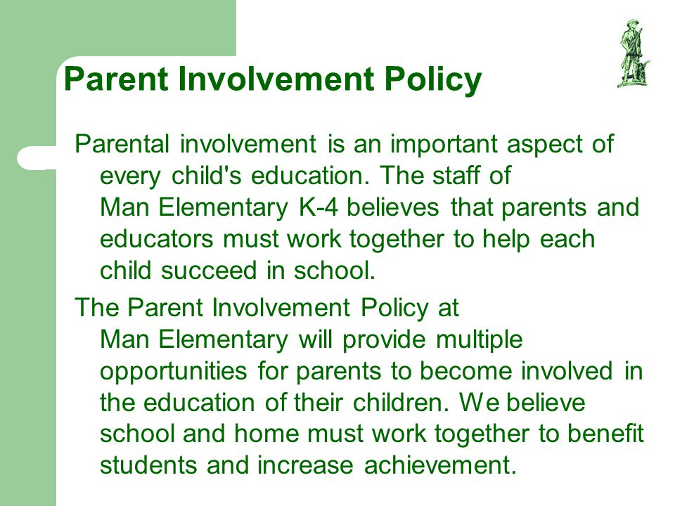 Parent Involvement Policy