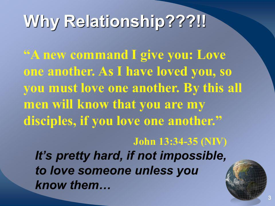 Why Relationship !!