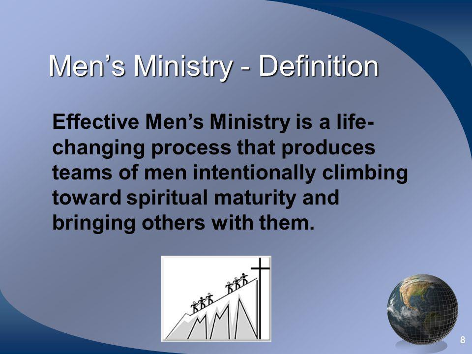 Men's Ministry - Definition