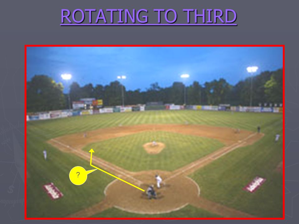 ROTATING TO THIRD