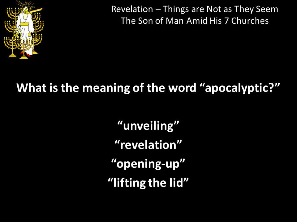 What is the meaning of the word apocalyptic