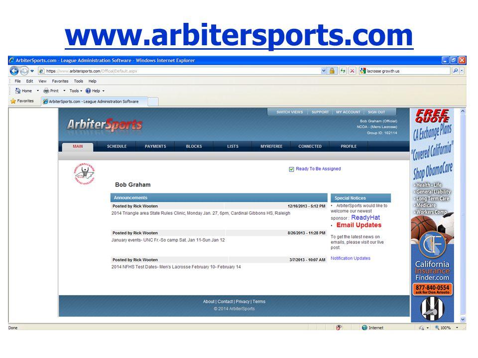 www.arbitersports.com