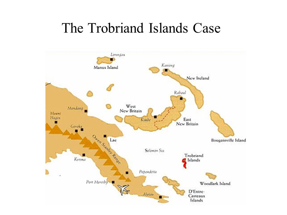 The Trobriand Islands Case